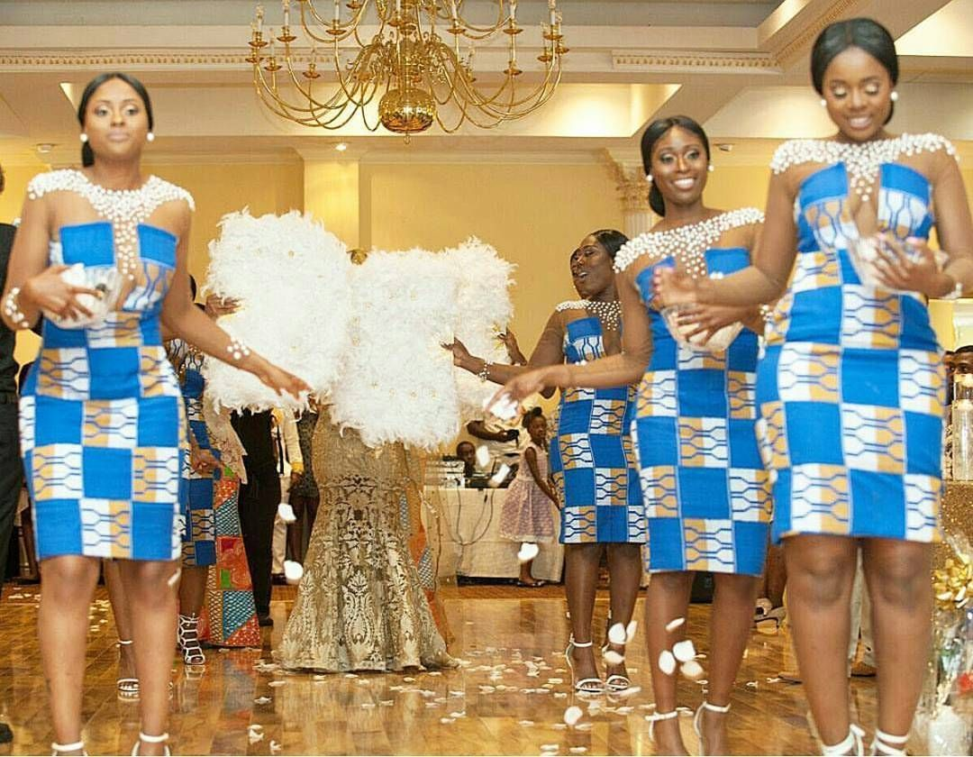 Introducing the bride yaabarbie african prints and styles introducing the bride yaabarbie modern bridesmaid dressesbridesmaid ideasbridesmaidswedding dressesnigerian ombrellifo Choice Image