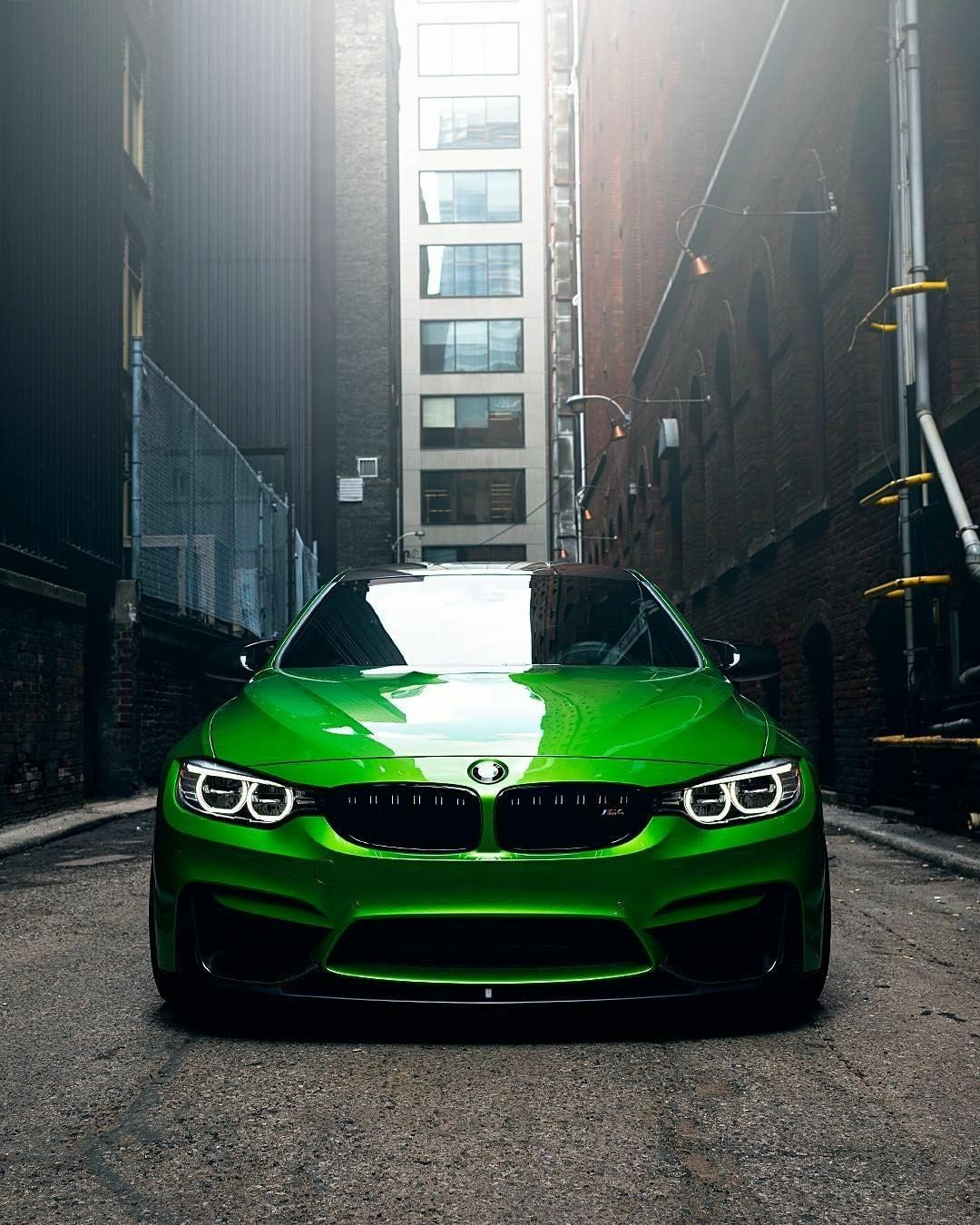 Green BMW M4 Coupe HD Wallpaper