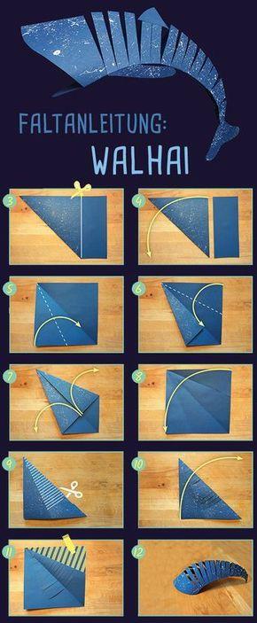 Photo of Origami: So faltet ihr einen Walhai