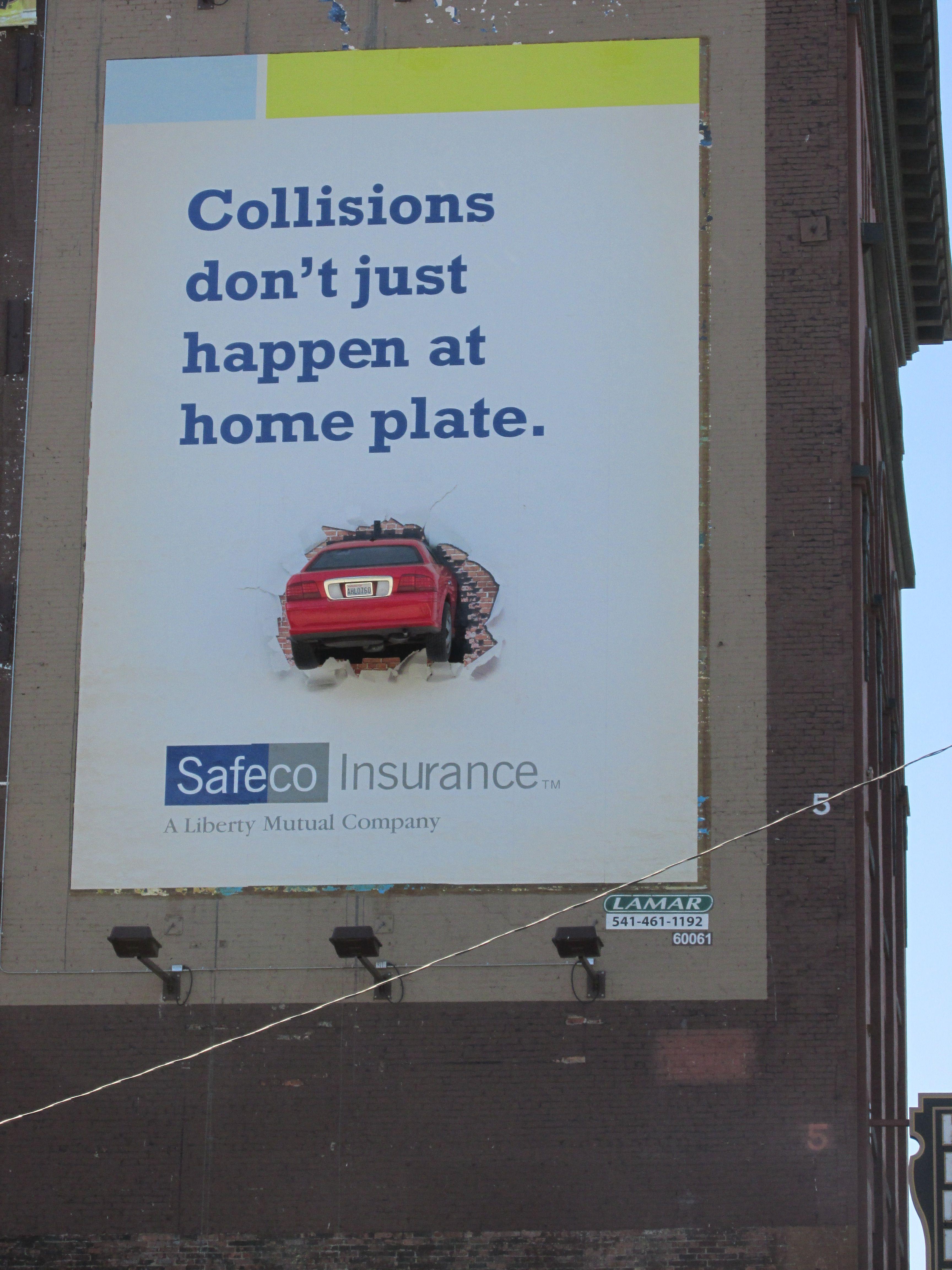 Safeco Insurance 3D Billboard Advertising Solutions MetroMedia