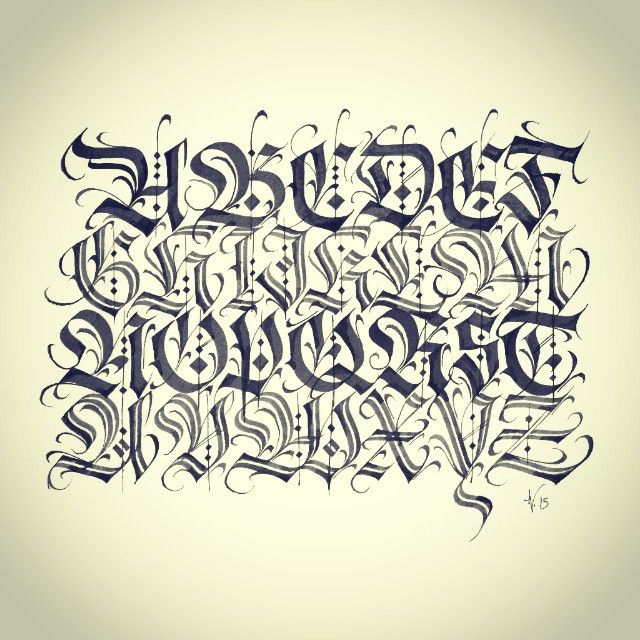 Calligraphy caligrafia lettering calligraffiti