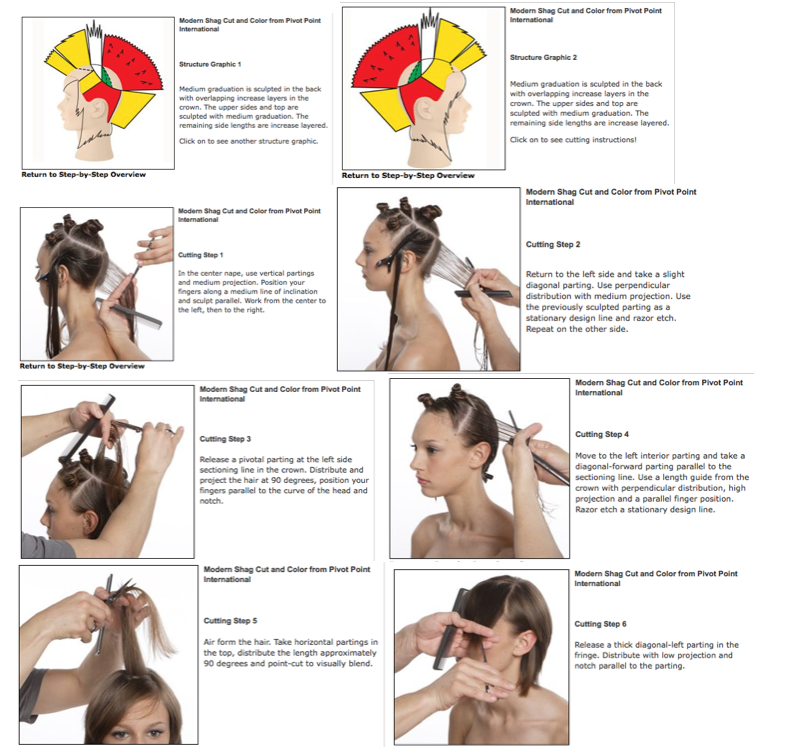 Pivot Point Blowtips Tips From The Beauty Shop How To Shag