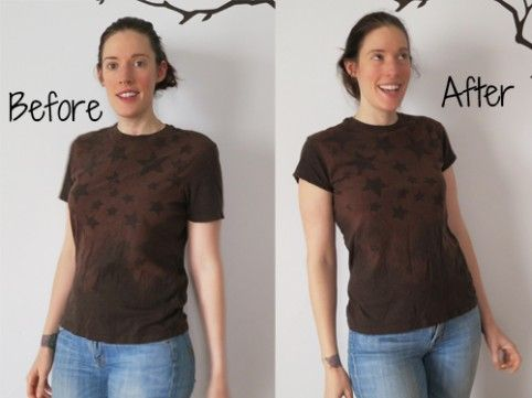 How to Make a Guy's T-Shirt Fit a Girl | Seamstress ErinSeamstress Erin