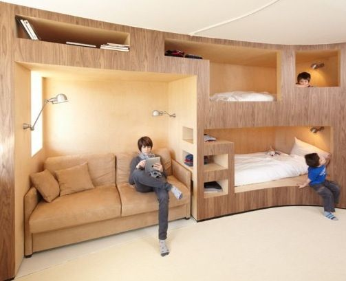 Interesting decision bunk beds for children's room | Bunk bed