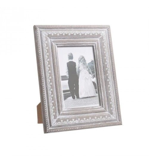 Wooden Photo Frame In Beige Color 10x15 Frame Wooden Photo Frames Leather Frames