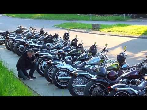 Harley Davidson Breakout Friends Meeting 08.05.16 (Love Ride Zurich/Switzerland) - YouTube
