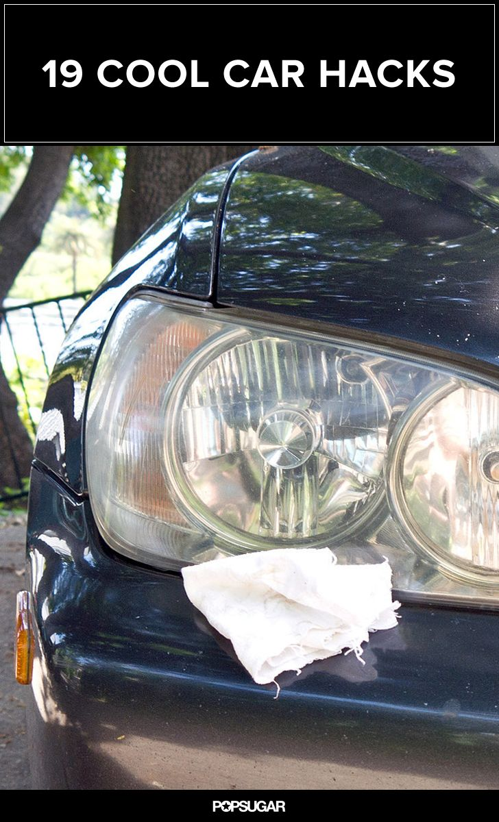19 Insanely Cool Car Hacks You Should Try Out Clever Car Hacks Car Cleaning Hacks Life Hacks