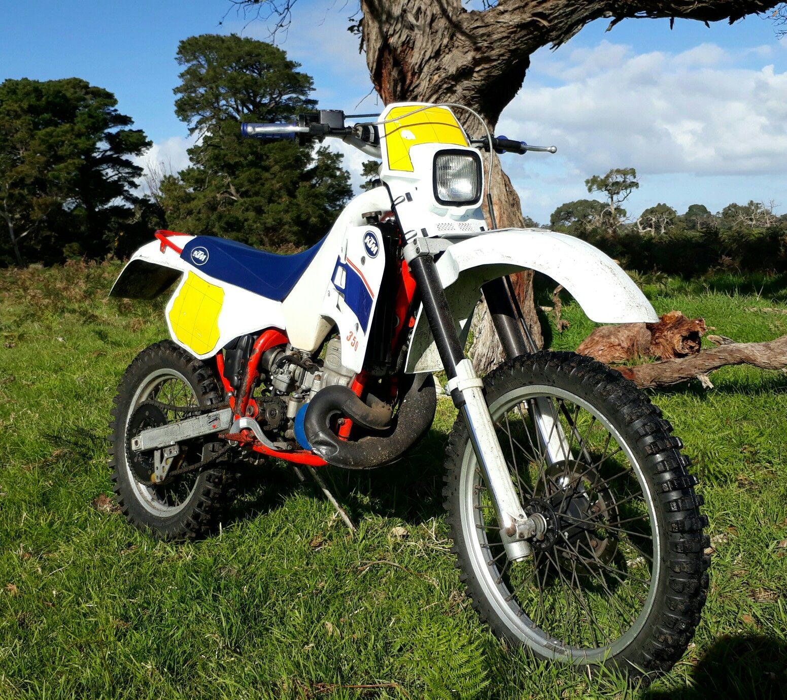 Ktm 350 2 Stroke 1988 Vinduro Enduro Motorcycle Classic Motorcycles Adventure Bike