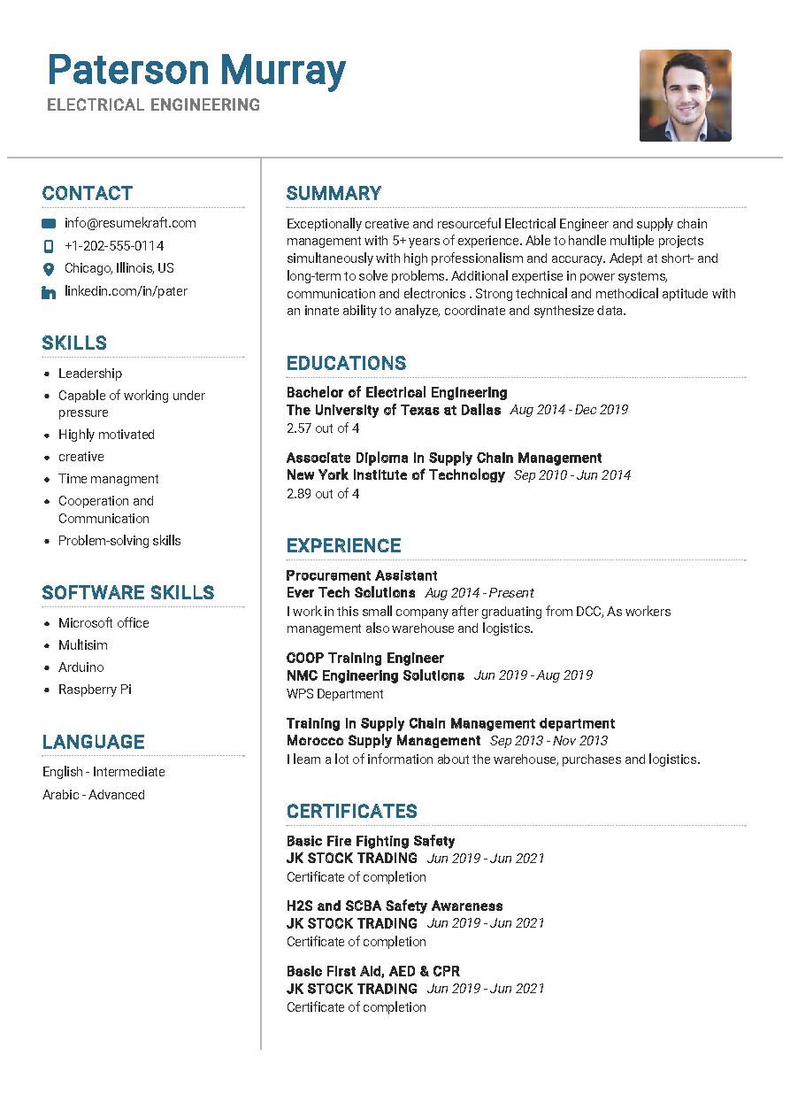 100 professional resume samples for 2020  resumekraft