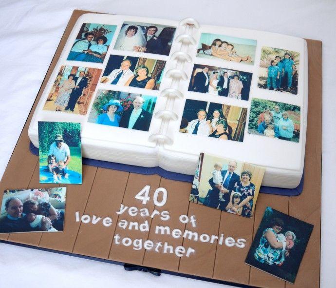 90th Birthday Cakes, 40th Birthday Cake