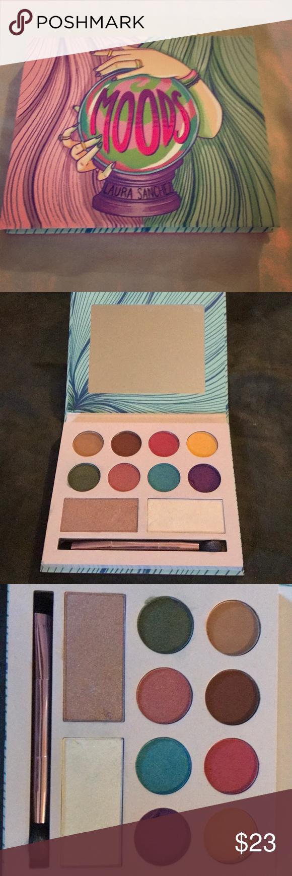 Laura Sanchez MOODS palette 💕 Beautiful palette, super