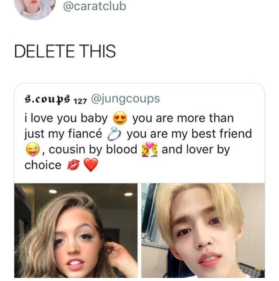 Delete Your Account Right Now Seventeen Memes Funny Kpop Memes Kpop Memes
