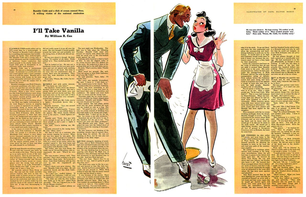 Earl Oliver Hurst, Collier's Magazine