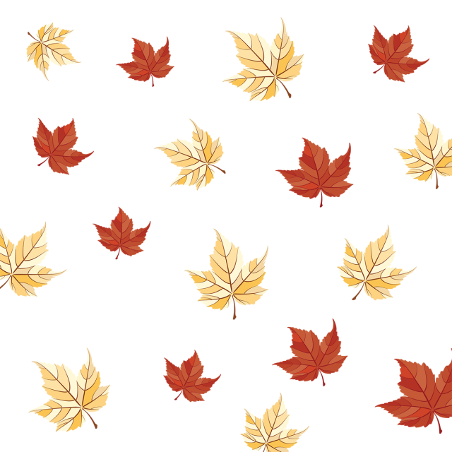 Automn Leaf Pattern Creative Classic Floral Flowers Hand Leaf Nature Leaves Fall Colorful Warm Bran Leaf Pattern Autumn Leaves Thanksgiving Leaves