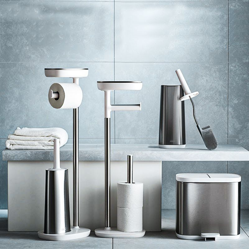 Standing Toilet Paper Holder Easystore Steel Joseph Joseph Toilet Roll Holder Toilet Roll Holder Freestanding Toilet Brush