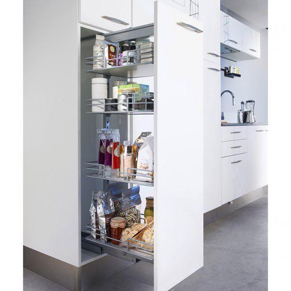 Placard Extractible Lapeyre Lapeyre Cuisine Kitchen Idee Rangement Cuisine Rangement Garde Manger Rangement Cuisine