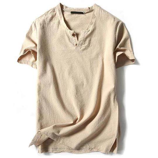 Addany 2018 New Arrival Summer Short Sleeved Shirts Men 100 Linen Sol Liligla Casual Shirts Casual T Shirts Mens Shirts
