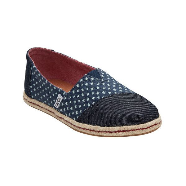 8492dcf6389 Women s TOMS Seasonal Classic Alpargata ( 44) ❤ liked on Polyvore featuring  shoes