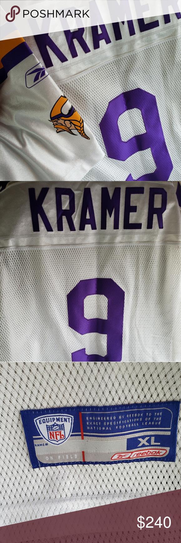arrives f836b 6a40c Minnesota Vikings Tommy Kramer #9 s xl Jersey Minnesota ...