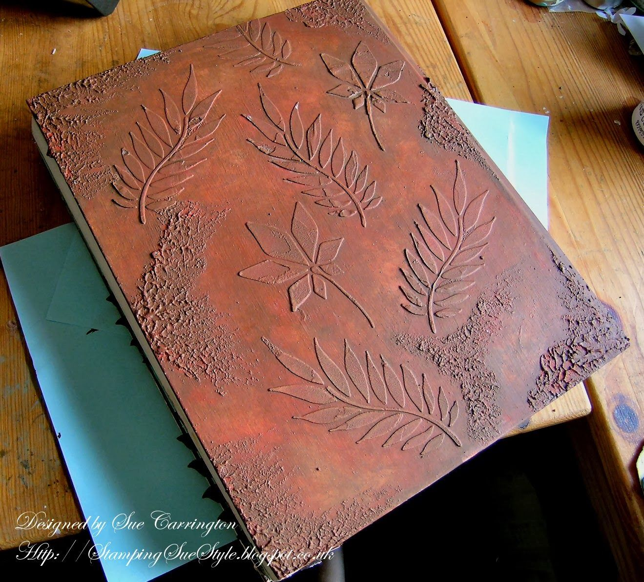 Stamping Sue Style - Book Cover
