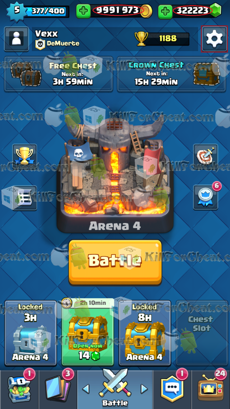 clash royale hack apk android download