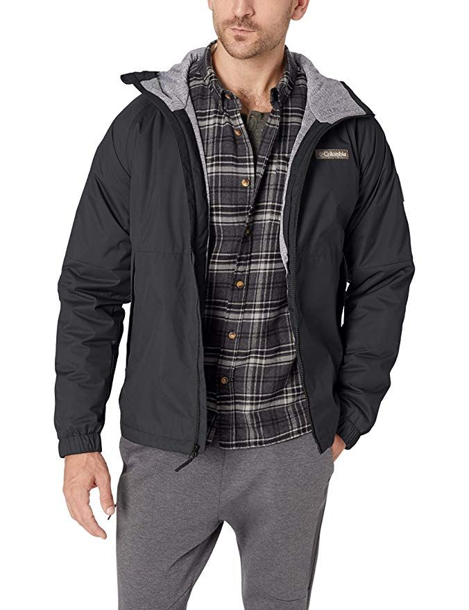 Columbia Men's Helvetia Heights Jacket, Waterproof | Men's ...