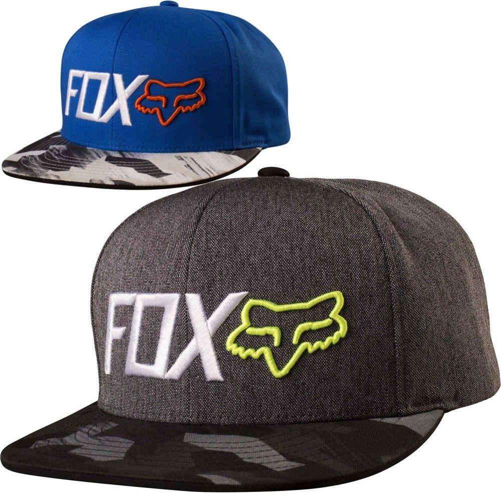 Fox Racing Obsessed Camo Mens Motocross Caps Off Road Snapback Hats a9ed289e9848