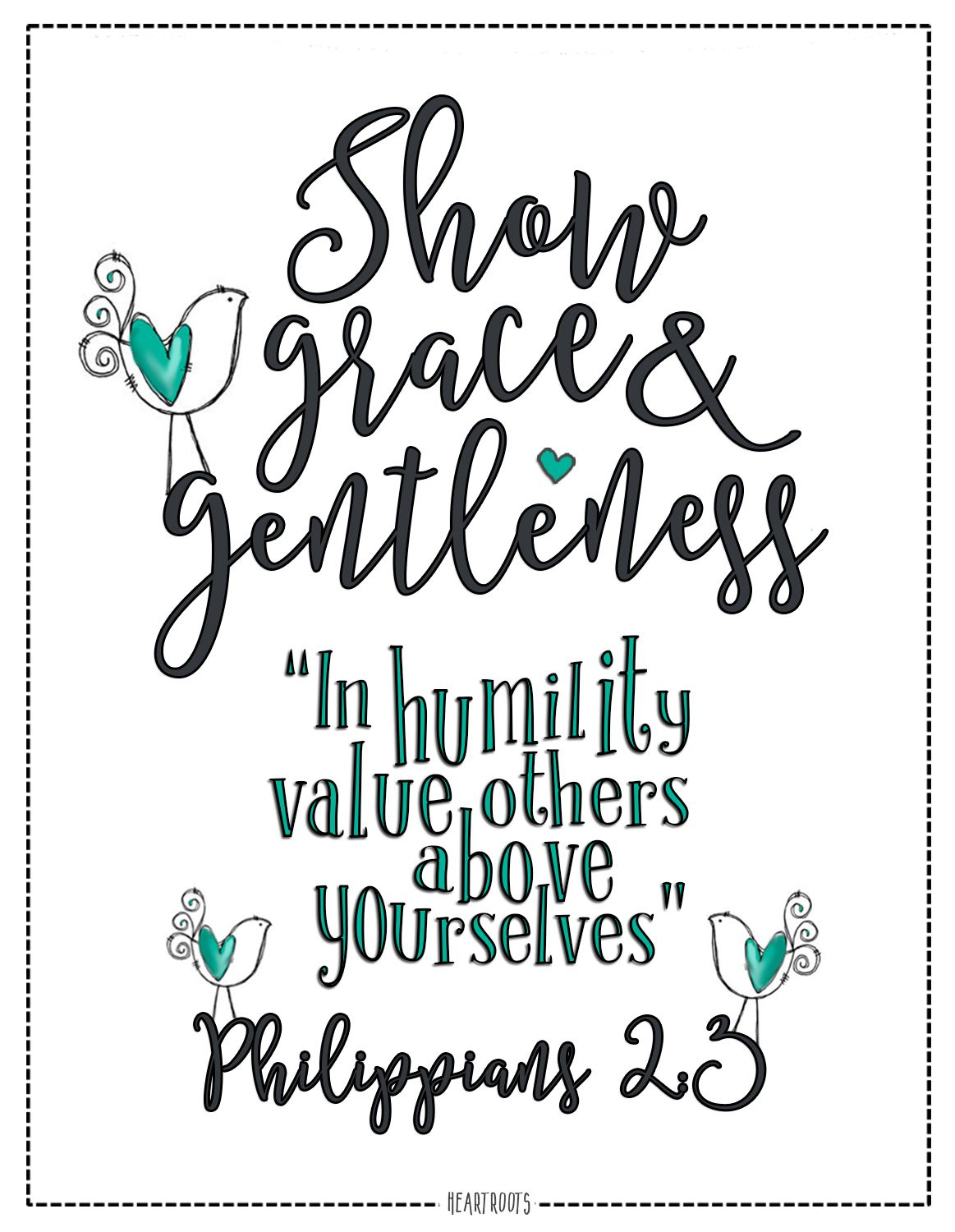 Philippians 2 3 In Humility Value Others Above