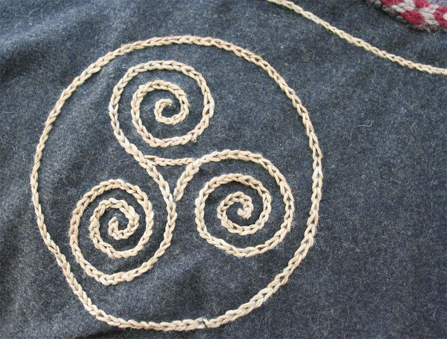 Viking embroidery by vendelrus craft pinterest