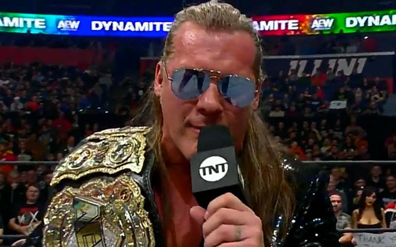 Chris Jericho Debuts New List Next Aew Title Match Set Chris Jericho Jericho Chris