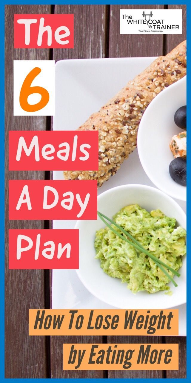 How To Eat 6 Meals A Day [Without Gaining Weight] 6