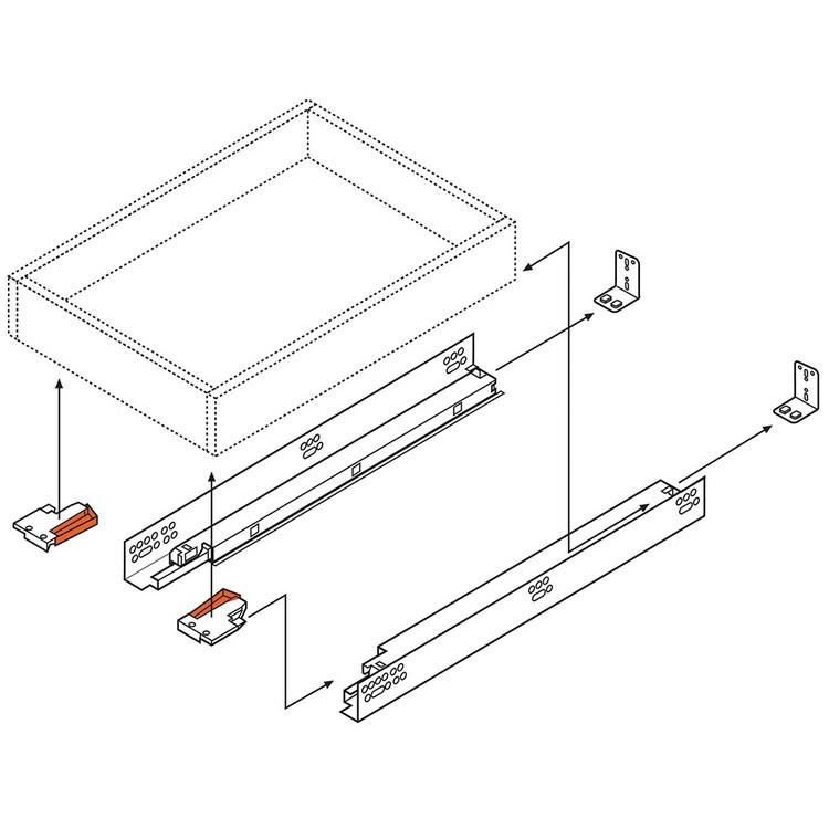 How To Install Blum Tandem Undermount Drawer Slides Tiny House Revolution Drawer Slides Drawers Modern House Plan
