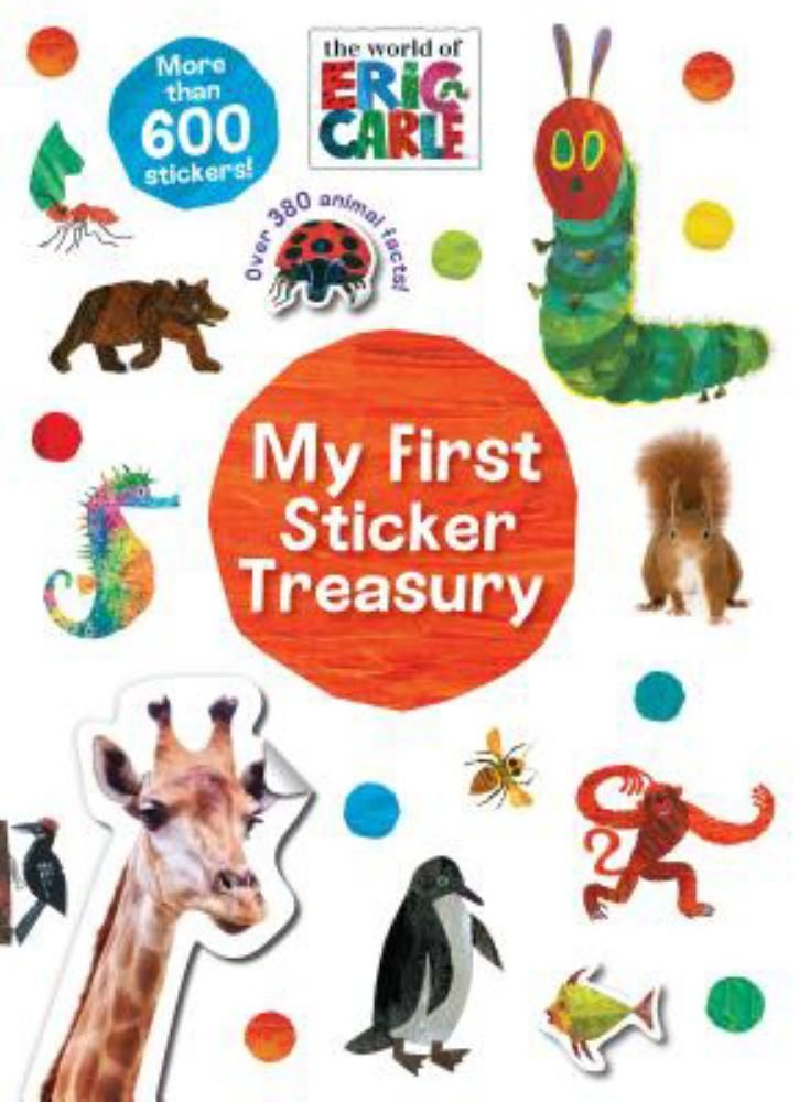 World of Eric Carle My First Sticker Treasury, The