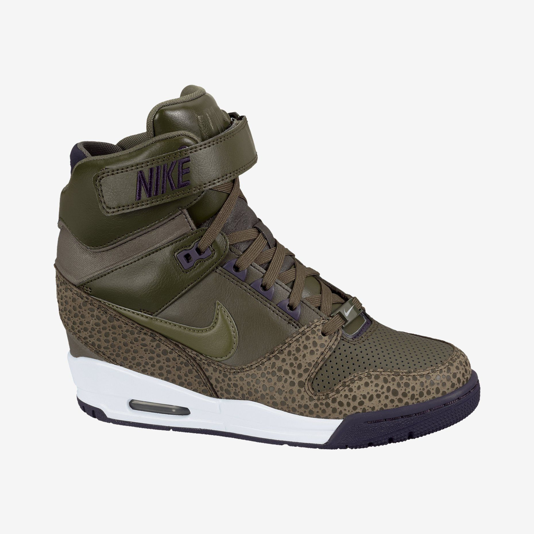 Nike Air Revolution Sky Hi Damen Keilabsatz Schuhe Sneakers