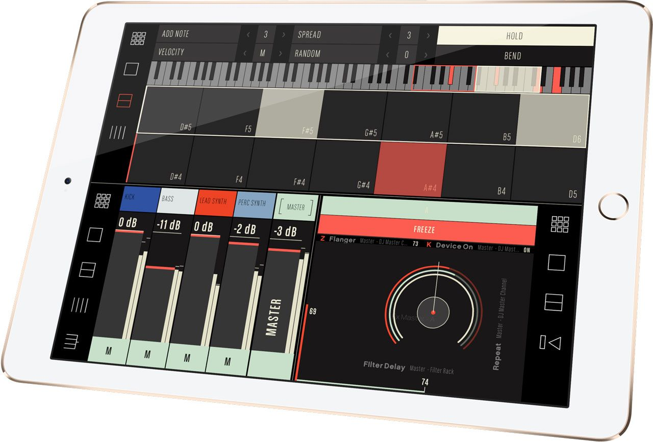 Conductr | Ableton Live & Traktor controller for iPad