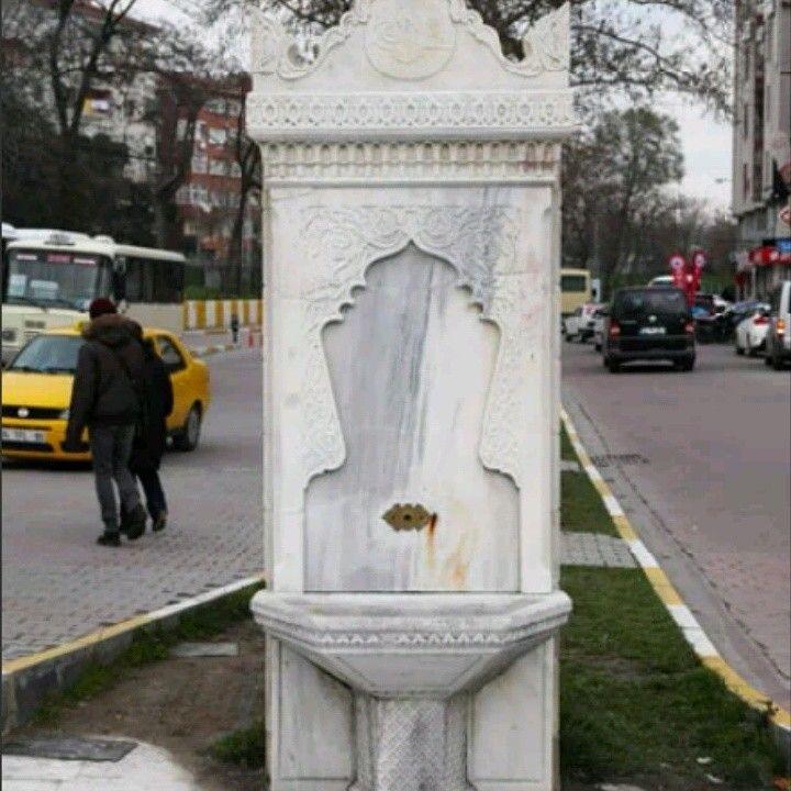 Fountain-Hamiye fountain-Hamidiye çeşmesi-Constructive: Ottoman Sultan II. Abdulhamid-Year built: Abdulhamid period-Küçükçekmece-İstanbul