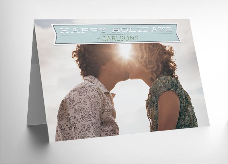 Free  Holiday Card Photoshop Templates Photography