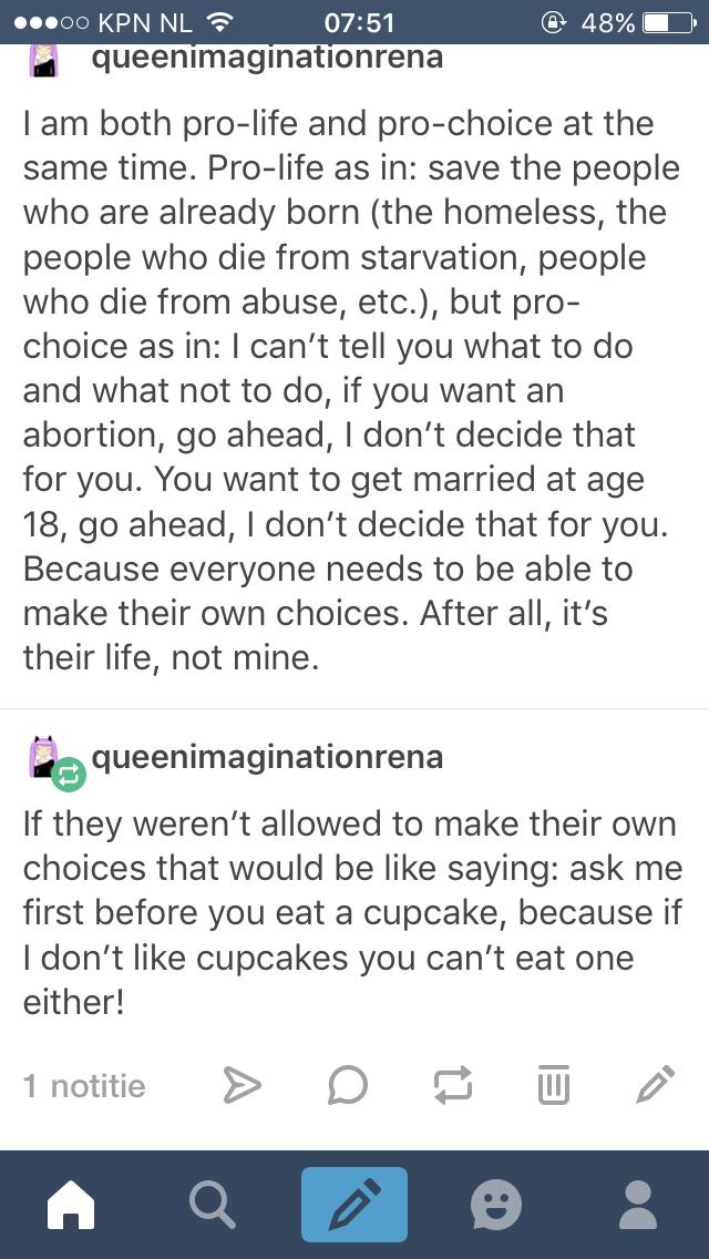Pro choice quotes tumblr