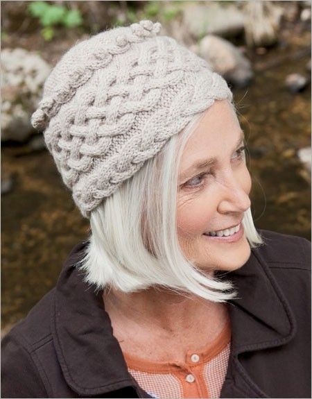 Braided Toque Knitting Pattern Download Knitting Patterns Knit