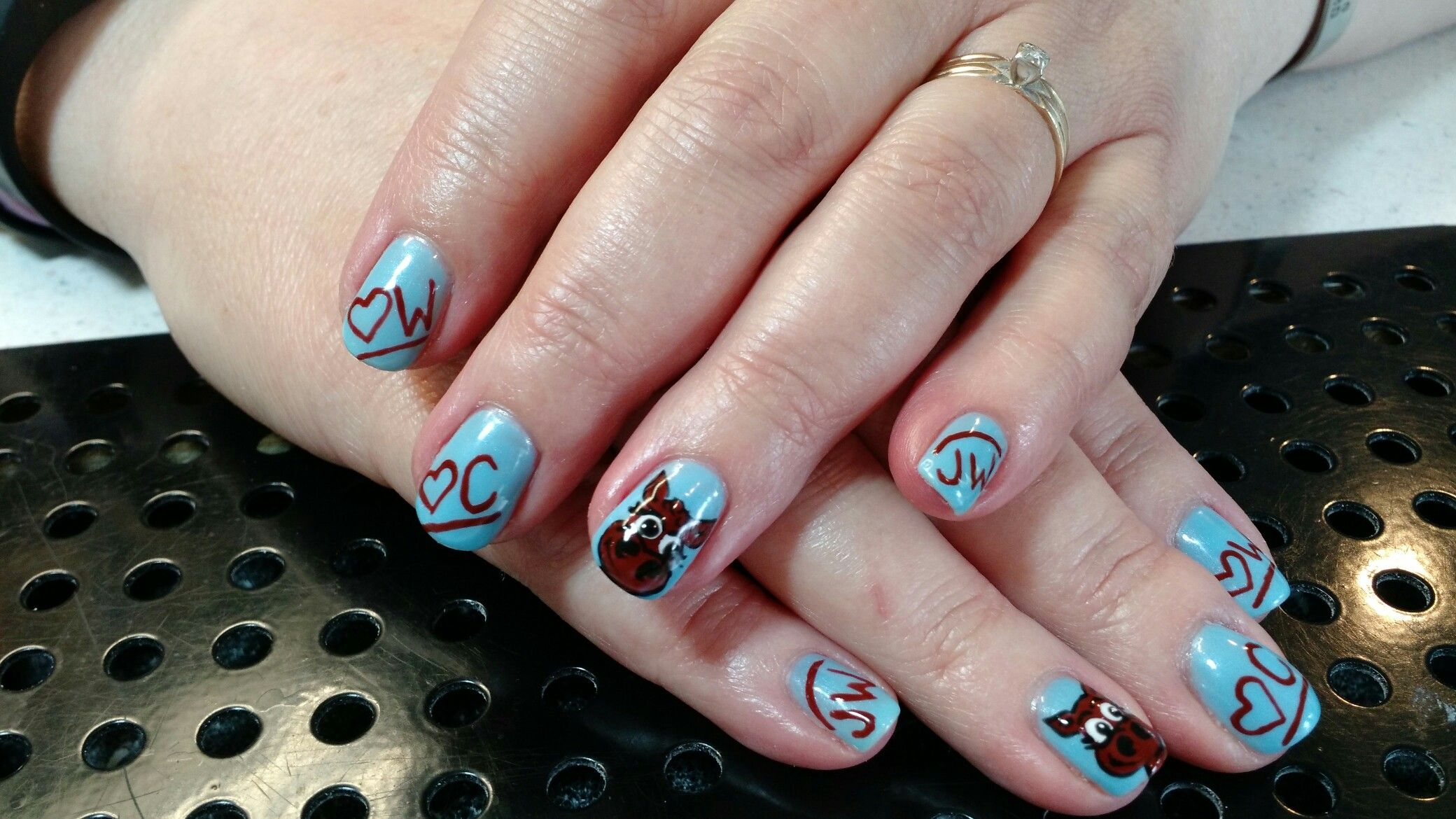 Cute Cows And Our Family Brands Nail Art By Heather Jenkins My