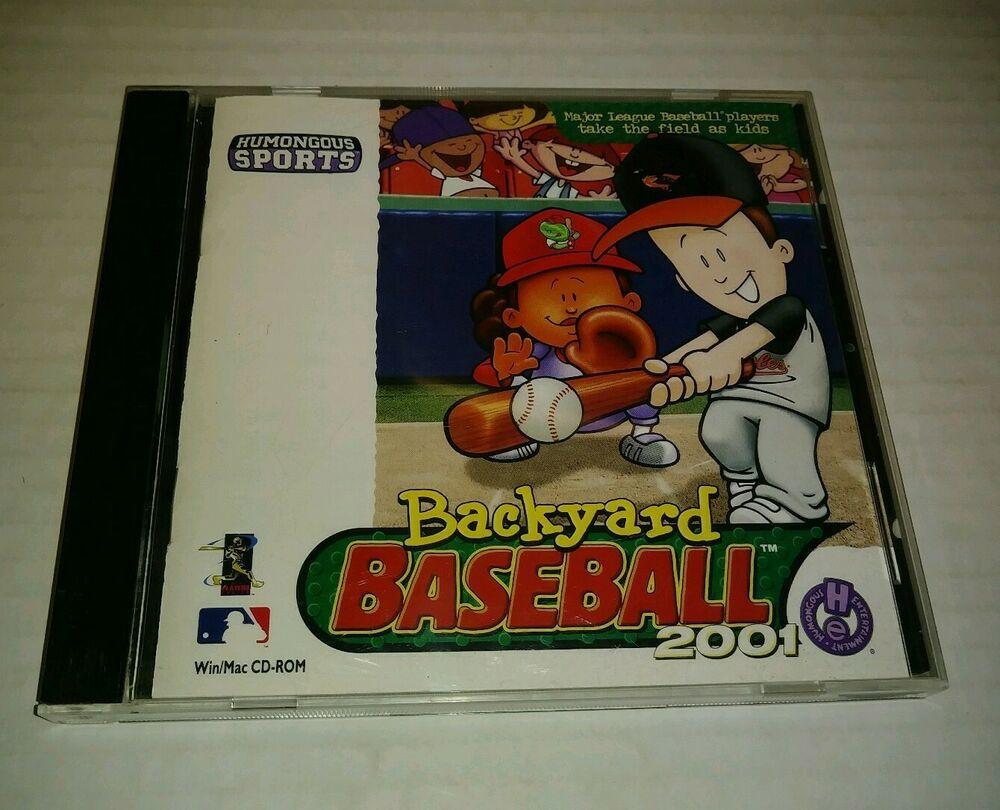 Backyard Baseball 2001 (Windows/Mac, 2000) PC Video Game ...