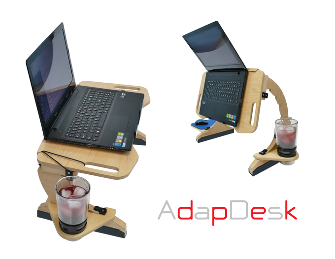 Etonnant AdapDesk Is Raising Funds For AdapDesk: The Worldu0027s First Portable Work  Station On Kickstarter! A Portable Desk Designed For The Growing Need To  Comfortably ...