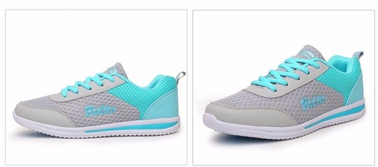 New Women Summer Breathable Mesh Shoes Soft Casual Flats ITC869. - Athletic