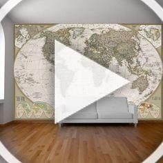 World map wall paper mural, self adhesive old style world map. Globe wall decal, photo mural, art decal, ancient world map wall sticker. | Vinyl Impression #worldmapmural World map wall paper mural, self adhesive old style world map. Globe wall decal, photo mural, art decal, ancient world map wall sticker. | Vinyl Impression #worldmapmural World map wall paper mural, self adhesive old style world map. Globe wall decal, photo mural, art decal, ancient world map wall sticker. | Vinyl Impression #w #worldmapmural