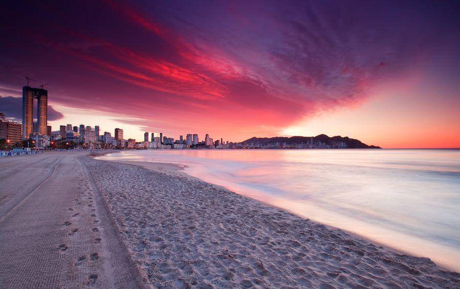 Sunrise Benidorm Spain