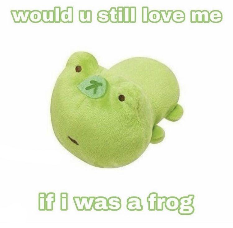 Would You Still Love Me Cute Love Memes Frog Meme Baby Memes
