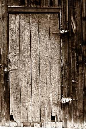 Drawings Of Old Doors Old Barn Wood Door Bw Tablolar Kapilar