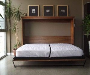 Superb Side Tilt Inspiration King Size Murphy Bed