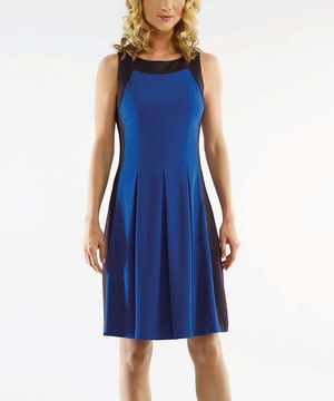 This Bigio Collection Lapis Pleated Sleeveless Dress - Women by Bigio Collection is perfect! #zulilyfinds