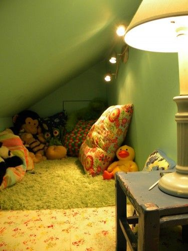 Oh To Have A Crawl Space And Inviting As This Attic Flooring Attic Renovation Attic Remodel